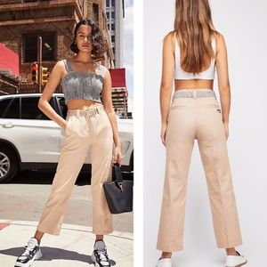 NWT ZGY by Free People Risky Business Chino Brown